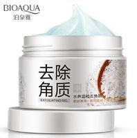 Гель-скатка для лица с рисом Bioaqua Exfoliating Gel, 140 г