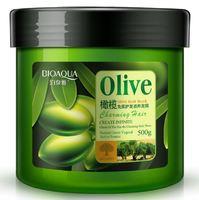 Маска для волос с экстрактом оливы BioAqua Olive Hair Mask, 500 g