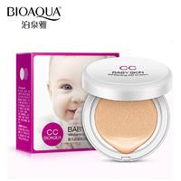 Кушон Bioaqua Baby Skin Whitening CC Cream, 15 g Тон 01