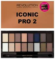 Палетка теней Makeup Revolution Iconic Pro 2,(16цв)