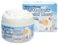 Осветляющий крем-мусс для лица Elizavecca Milky Piggy White Crow Glacial More Cream,100g
