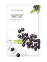 Тканевая маска для лица Nature Republic Real Nature Mask Sheet Acai Berry