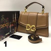 Сумка Lux Dolce&Gabbana 27х18см -Натуральная Кожа