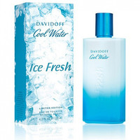 Davidoff Cool Water Ice Fresh for men , 100 ml