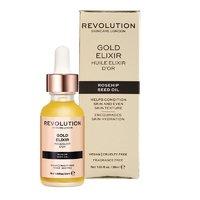 Сыворотка для лица с маслом шиповника Revolution Rosehip Seed Oil Gold Elixir, 30ml