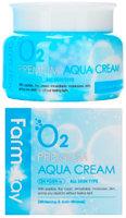 Увлажняющий крем с кислородом FarmStay O2 Premium Aqua Cream, 100 г