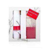 Подарочный набор 2в1 Armand Basi In Red edt(парфюм+дезодорант).