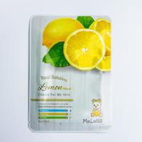 Тканевая маска для лица Meloso Total Solution Lemon Mask