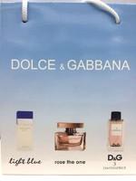 Подарочный пакет Dolce&Gabbana 3x15