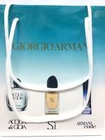 Подарочный пакет Giorgio Armani 3x15