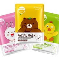 Тканевая маска Bioaqua Facial Mask Animal Moisturizing Mask,30g.