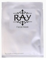 Тканевая маска для лица с Коллоидным Серебром Ray Facial Mask Silver