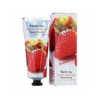 Крем для рук с экстрактом клубники FarmStay Visible Difference Hand Cream Strawberry ,100ml