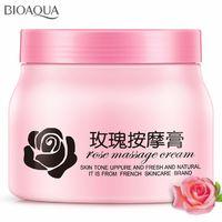 Очищающий масляный крем для массажа Bioaqua Rose Massage Cream,500ml.