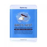 Тканевая маска для лица с экстрактом ласточкиного гнезда FarmStay Visible Difference Bird's Nest Aqua Mask Pack