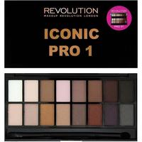 Палетка теней Makeup Revolution Iconic Pro 1,(16цв).