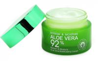Глубоко увлажняющий крем для лица BioAqua Refresh&Moisture Aloe Vera 92% 50ml