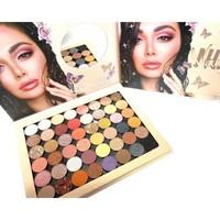 Тени для век Huda Beauty Nude Naughty Eyeshadow Palette 48 цветов