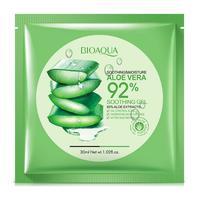 Успокаивающая тканевая маска для лица Bioaqua Soothing Moisture Aloe Vera 92% Soothing Gel 30g