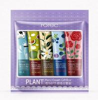 Набор кремов для рук 5в1 Rorec Plant Hand Cream Gift Box.