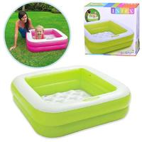 Детский надувной бассейн Intex 85х85х23см
