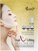 Тканевая маска для лица и подбородка Boon7 Dual Lifting