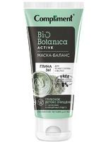 Compliment Biobotanica active Маска-баланс Глина 3 в 1 для кожи головы и волос