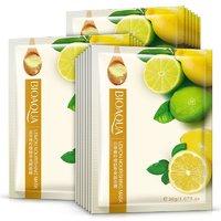 Тканевая маска с экстрактом лимона Bioaqua Lemon Nourishing Mask.