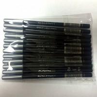 Карандаши черные для глаз  MAC, 12 шт