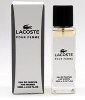 Суперстойкие духи 60ml Lacoste Pour Femme