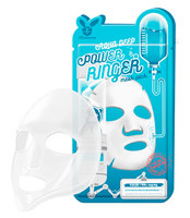 Увлажняющая тканевая маска для лица с гиалуроновой кислотой Elizavecca Deep Power Ringer Mask Pack Aqua