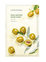 Тканевая маска для лица Nature Republic Real Nature Mask Sheet Olive