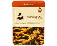 Тканевая маска с экстрактом корня красного женьшеня FarmStay Visible Difference Red Ginseng Mask Sheet