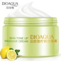 Массажный крем для лица с экстрактом лимона BioAqua Skin Tone Up Massage Cream