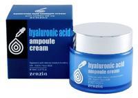 Крем для лица с гиалуроновой кислотой Zenzia Hyaluronic Acid Ampoule Cream ,70г