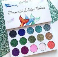 Палетка теней Glamierre Mermaid Glitter Palette