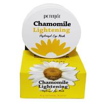 Гидрогелевые патчи для глаз с экстрактом рома  шки Petitfee Chamomile Lightening Hydrogel Eye Mask