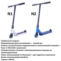 Самокат трюковой TT Grab 1/4 (Р).