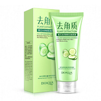 Гель-скатка для лица BioAqua Plant Extraction You Intoxicated Shower Exfoliator Cucumber