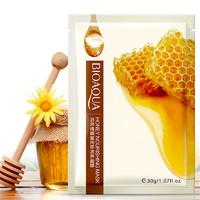 Тканевая маска для лица с экстрактом меда  Bioaqua Honey Nourishing  Mask.