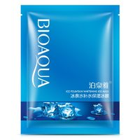 Охлаждающая тканевая маска  Bioaqua Ice Fountain Whitening.