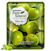 Тканевая маска Images Pure Source Sheet Mask Clinese Olive