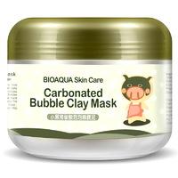 Пузырьковая маска для лица Bioaqua Carbonated Bubble Clay Mask