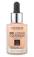 Тональная основа Catrice Cosmetics HD Liquid Coverage Foundatio,30ml(тон 020)