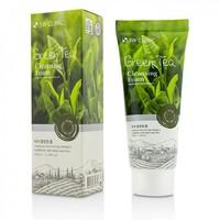 Пенка для умывания с зеленым чаем 3W Green Tea Foam Cleansing, 100 мл