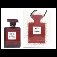 Chanel №5 L`eau Red Edition, 100 ml (в подарочном пакете)