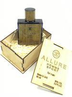 Chanel Allure Homme Sport, 60 ml (деревянная коробка)
