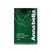 Тканевая маска с Морскими Водорослями Annabella Angel Aqua Expert Hydrated Facial Mask,30ml