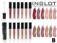 Блески для губ Inglot Lip Tint Matte/ Rouge a Levres Liquide Matte Тон B (12 шт)