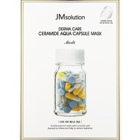Тканевая маска с керамидами JM Solution Derma Care Ceramide Aqua Capsule Mask.